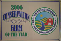 Conservation Farm of the Year 2006